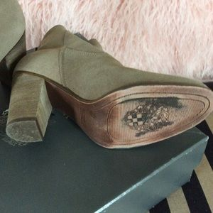 Vince Camuto Shoes - Suede Booties Size 7 1/2